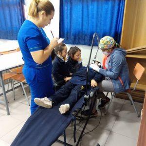 Control dental preventivo para niños de pre básica, organizado por el CEPA