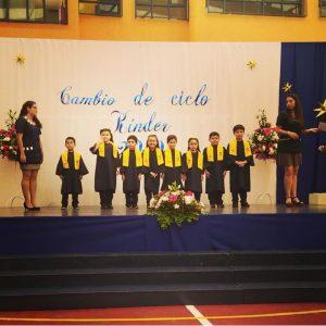 Ceremonias cambio de ciclo y niño lector, el CEPA realizo presentes a los alumnos y apoderados destacados